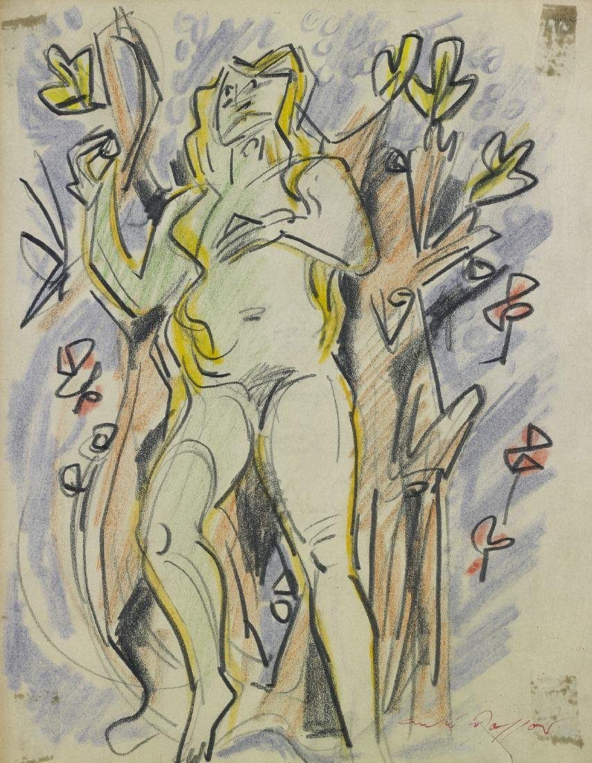 ANDRE' MASSON Untitled.