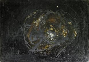 ENRICO BAJ Paint.