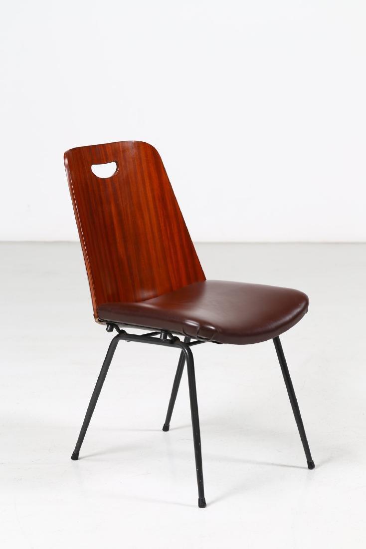 GASTONE RINALDI Chair mod. DU 22.