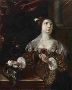 ARTISTA EMILIANO DEL XVII SECOLO Portrait of woman