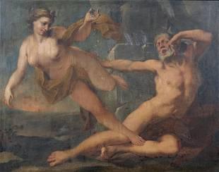 ARTISTA VENETO DEL XVIII SECOLO Allegory of the