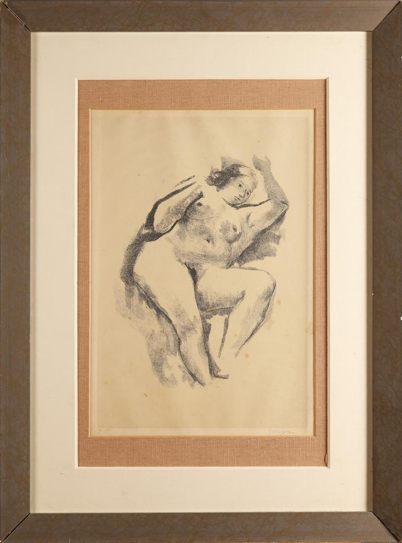 GIUSEPPE CAPOGROSSI Untitled (Donna distesa).