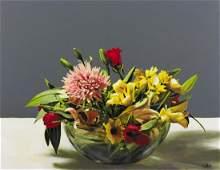 BENIAMINO CICCOTELLI Untitled (Ciotola con fiori).