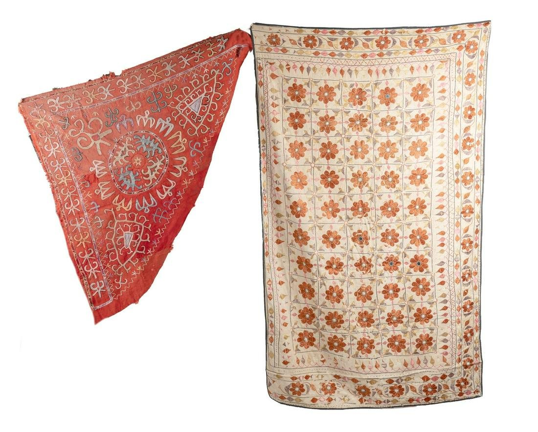 Arte Islamica  Two Central Asian textiles Late