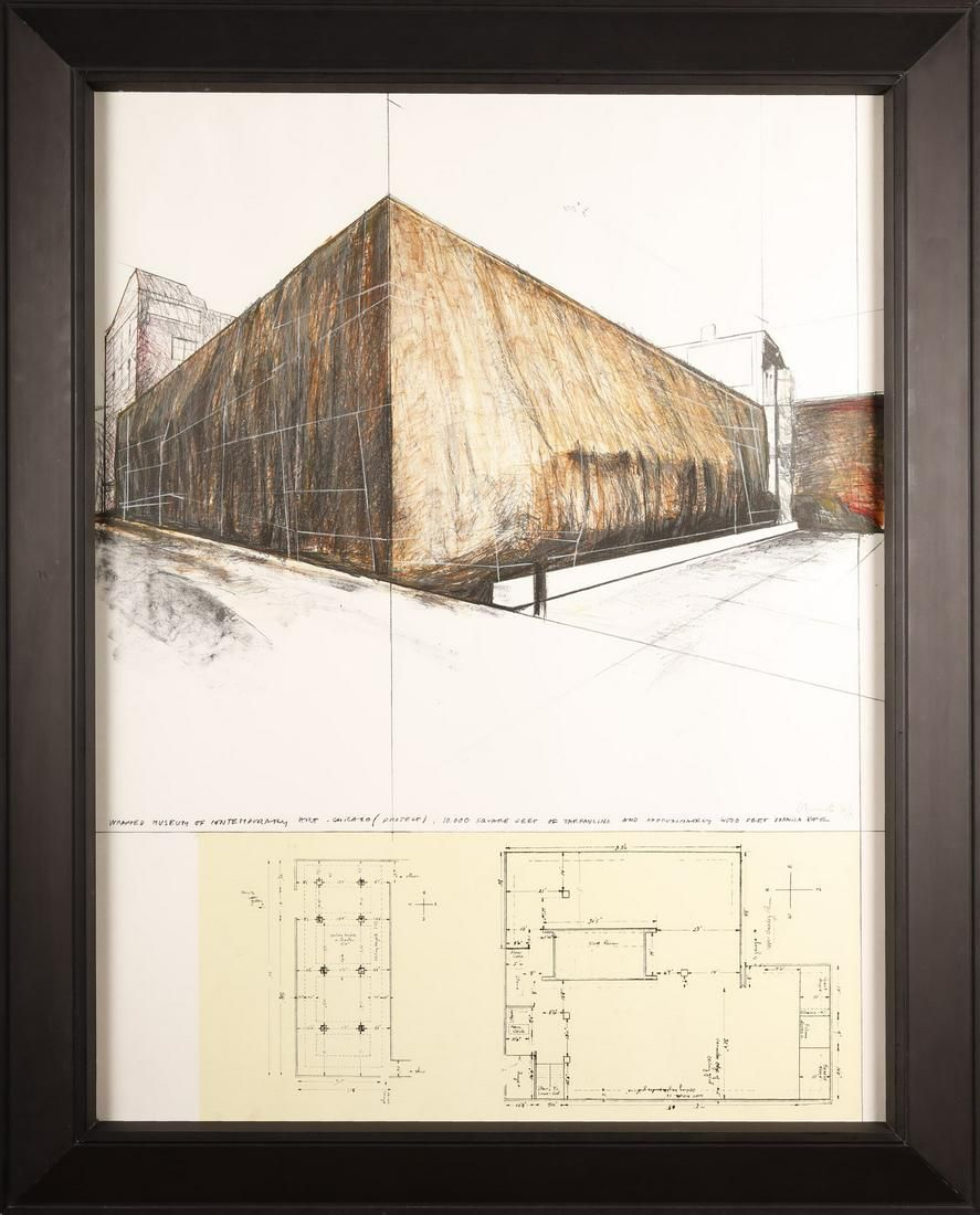 CHRISTO Wrapped Museum of Contemporary Art Project for