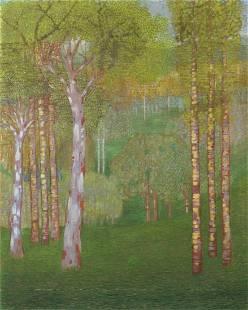 VITTORIO ZECCHIN Autumn wood. .