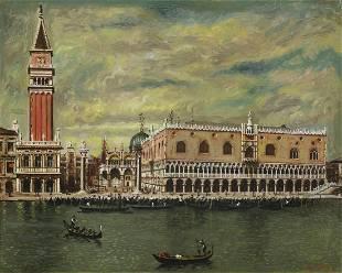 GIORGIO DE CHIRICO Venice (Palazzo Ducale).