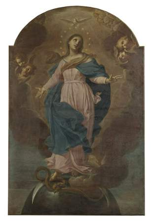 ANGELO PAGLIA Elevation of the Virgin.