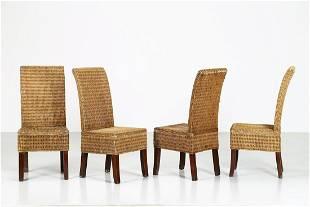 MANIFATTURA ITALIANA Four chairs