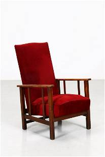MANIFATTURA ITALIANA Reclining armchair