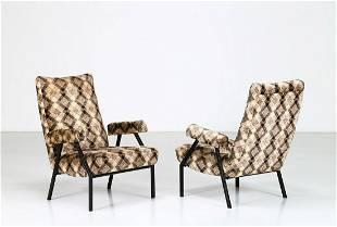 MANIFATTURA ITALIANA Pair of armchairs