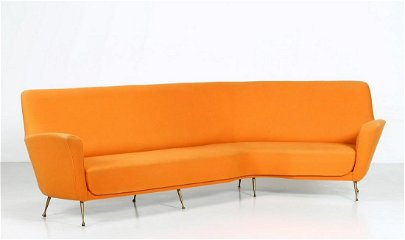 ICO PARISI In the style of. Sofa.
