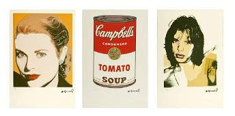 ANDY WARHOL Lot composed of n.4 sheets.