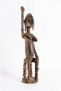 Arte africana Seated figure DogonMali