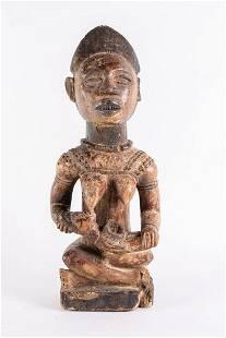 Arte africana Maternity sculpture YombeDR Congo