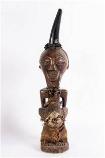 Arte africana Nkisi sculpture SongyeDR Congo