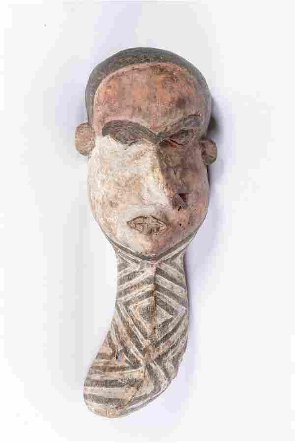 Arte africana Mbangu mask, PendeD.R.Congo.