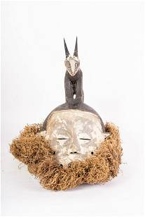 Arte africana An antelope mask Ibo Nigeria