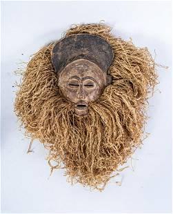 Arte africana Initiation mask ChokweAngolaDR