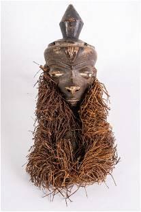 Arte africana Mbuya mask PendeRDCongo
