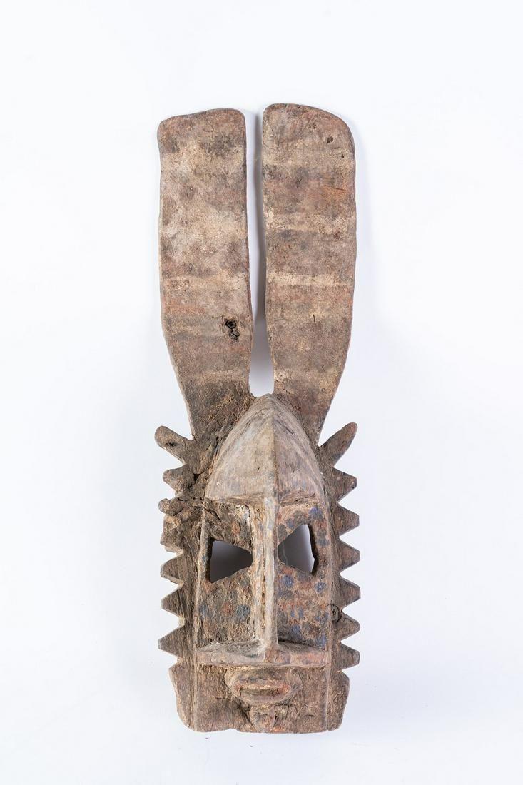 Arte africana A gomintogo mask, DogonMali.