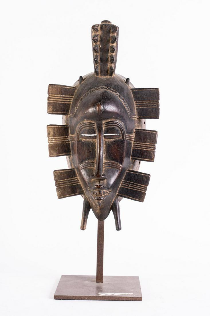 Arte africana A kpelie Senufo maskIvory Coast.