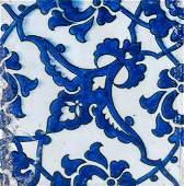 Arte Islamica  A Dome of the Rock pottery tile Ottoman