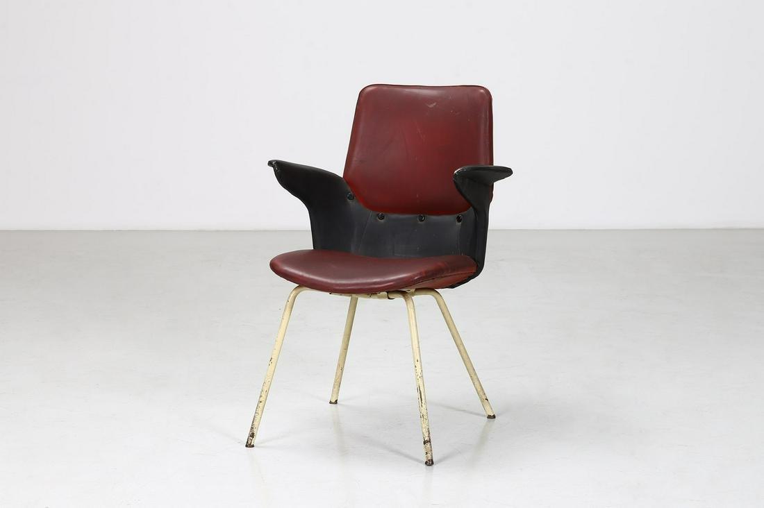 GASTONE RINALDI Chair, model Du 20, Rima production,