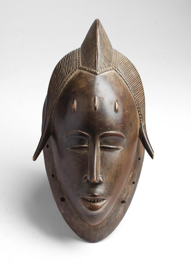 Arte africana Portrait mask mblo, GuruIvory Coast.