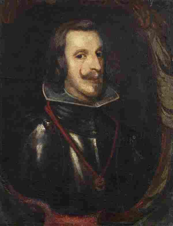 ARTISTA DEL XVII SECOLO Portrait of Filippo IV of