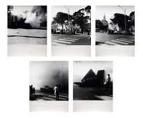 MICHELE ZAZA Folder composed of n.5 photos. Simulazione