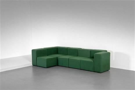 GIANCARLO PIRETTI Modular sofa, Anonima Castelli