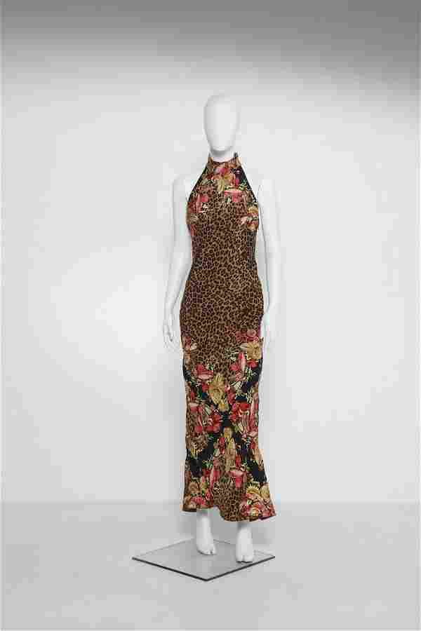 GIANNI VERSACE Couture dress.