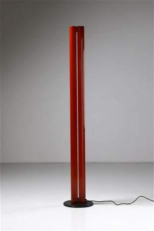 GIANFRANCO FRATTINI Standard lamp, Megaron model,