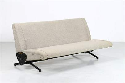 OSVALDO BORSANI D70 Sofa, Tecno production, 1954.
