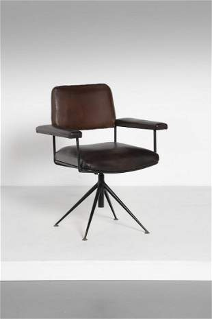 GASTONE RINALDI DU27G armchair, Rima production.
