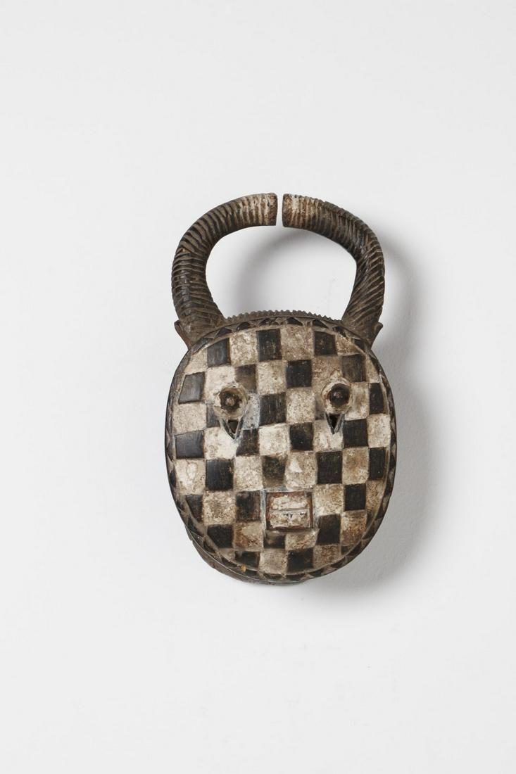 Arte africana Kple-kple mask, BauleIvory Coast.