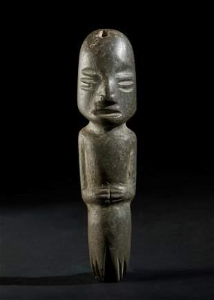 Arte delle Americhe  Stone figure, Maya (?)Guatemala.