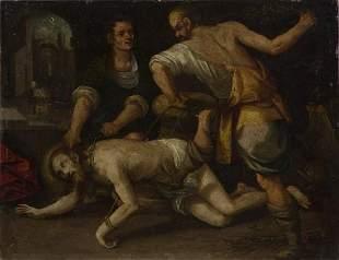 ARTISTA DEL XVI SECOLO Christ in chains.