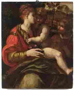 ARTISTA ITALIANO DEL XVI SECOLO Madonna and Child with