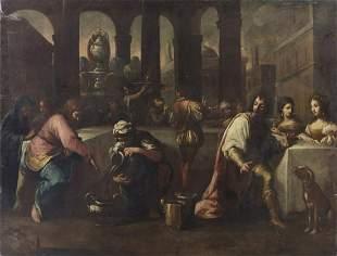 ARTISTA DEL XVI-XVII SECOLO The Marriage at Cana. .