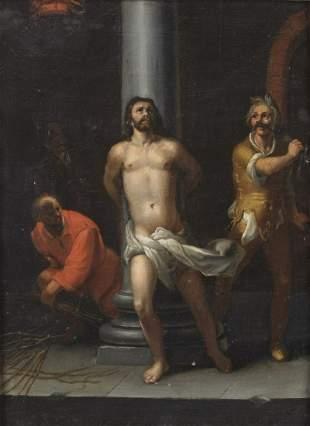 DIONISIO CALVAERT Flagellation of Christ.