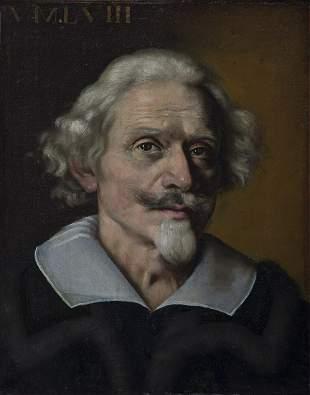 ARTISTA ROMANO DEL XVII SECOLO Portrait of a gentleman.