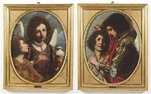 ARTISTA TOSCANO DEL XVII SECOLO Pair of paintings