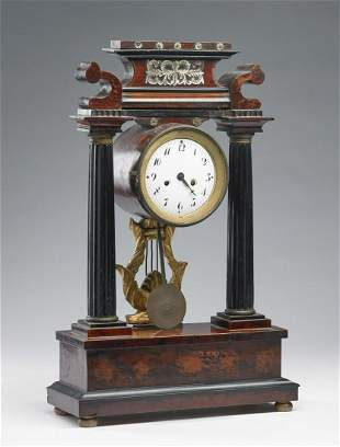MANIFATTURA VENETA DEL XIX SECOLO Mantel clock in