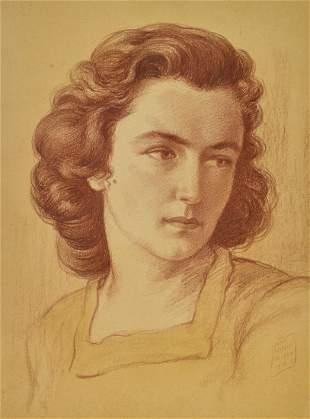 BORIS GEORGIEV Portrait of a woman. .