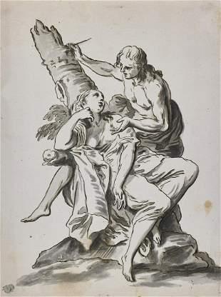 SCUOLA VENETA DELLA FINE DEL XVIII SECOLO Mythological