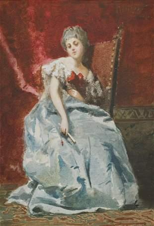 FRANCESCO DIDIONI Portrait of a woman.