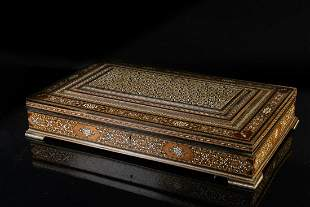 Arte Islamica A large mother of pearl inlaid Quran