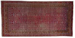 Arte Islamica A large Khotan Samarkand carpet with
